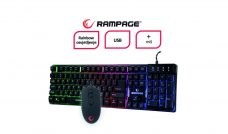 Rampage tipkovnica i miš RX9 1